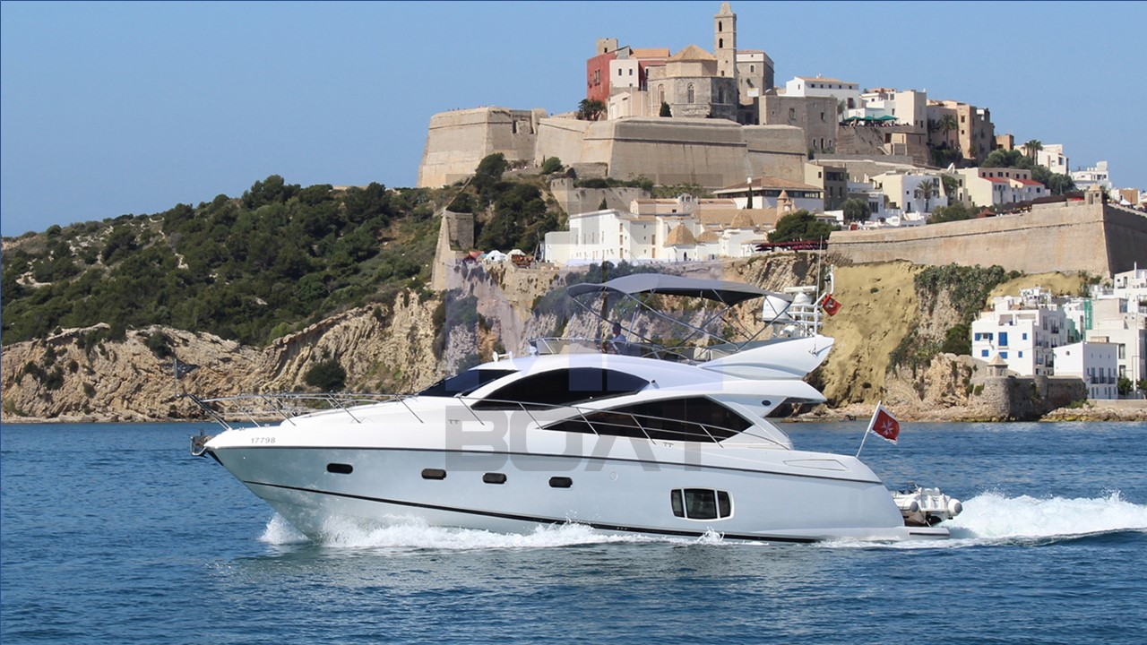 Sunseeker Manhattan 60 «Priska»